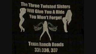 Texas Motorcycle Three Twisted Sisters Best Roads Rides Hill Country Map