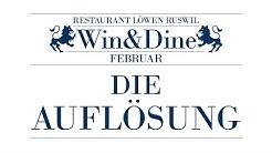 WinAndDine Restaurant Loewen Ruswil Februar 2020