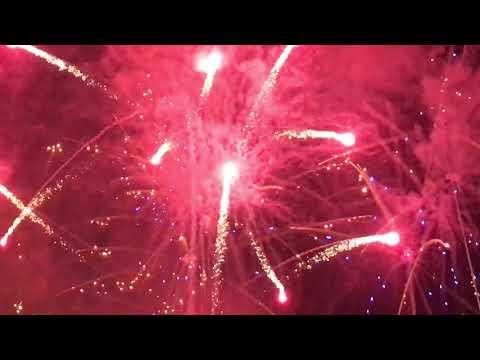 Fogo de Artifício, Festas de Sta Marta, Vila Nova da Rainha, Azambuja