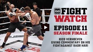 Rico Verhoeven vs Badr Hari (GLORY Collision) | Fight Watch