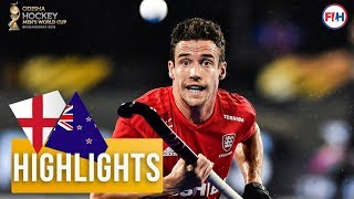 England v New Zealand | Odisha Men's Hockey World Cup Bhubaneswar 2018 | HIGHLIGHTS