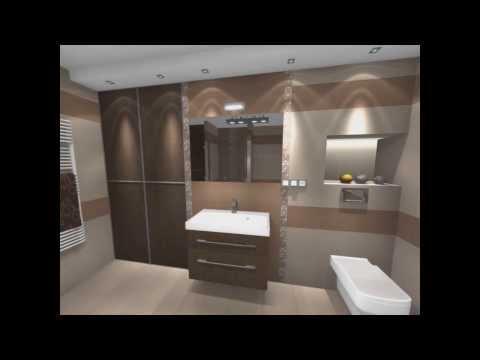Aranżacja łazienki Domino Bali Salon łazienek Glazura
