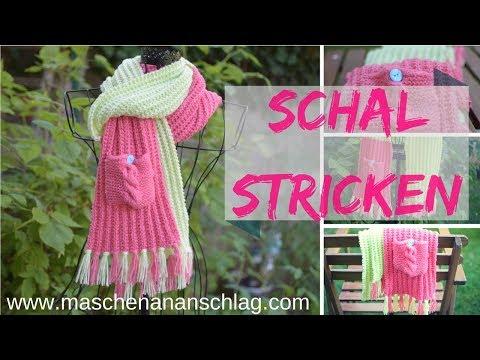Schal Wintermärchen stricken | einfach und für Anfänger geeignet