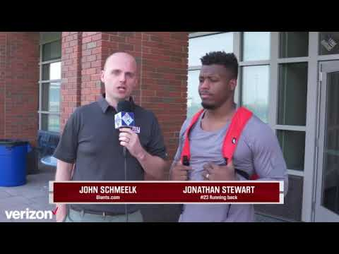 Giants Insider: RB Jonathan Stewart is excited to get to work with  Barkley