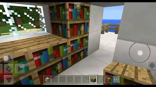 BUILDING OUR HOUSE IN UNDERWATER IN MINECRAFT POCKET EDITION!!