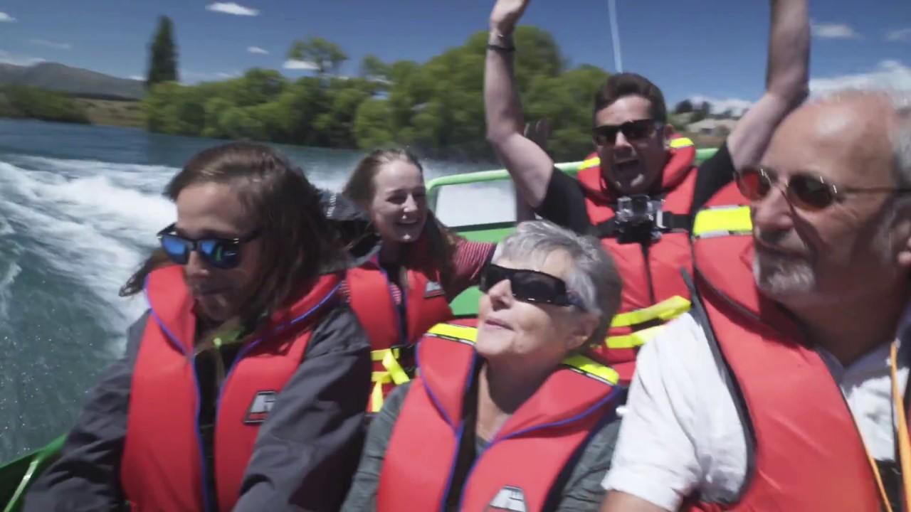 video Wanaka Jet Boat Ride (Early Bird Special)