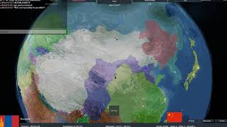 Defeating China as Mongolia in ROBLOX Rise of Nations - Red Dragon Mapping