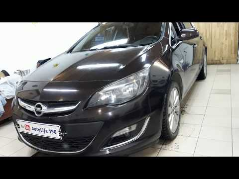 Замена заднего сальника коленвала Opel Astra J  2013 г.