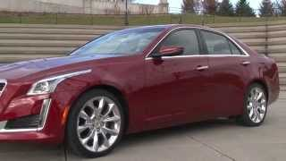 2014 Cadillac CTS - TestDriveNow.com Review with Steve Hammes | TestDriveNow