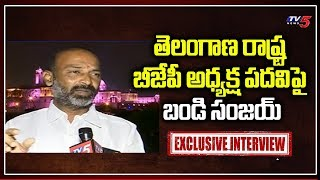 Telangana New BJP President Bandi Sanjay Face To Face | TV5 News