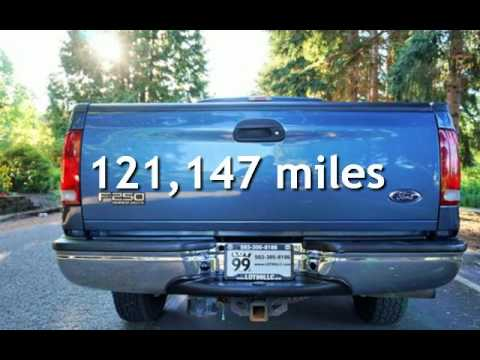 2004 Ford F-250 4X4 Lariat Long Box 1 Owner for sale in Milwaukie, OR