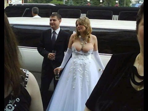 10 Ugliest Wedding Dresses Ever Youtube