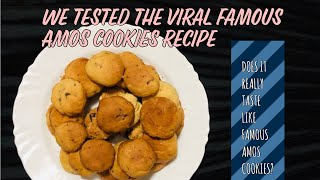 We Tested The Viral Famous Amos Cookie Recipe!