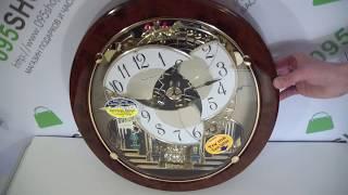 Часы настенные RHYTHM 4MH843WS23 обзор