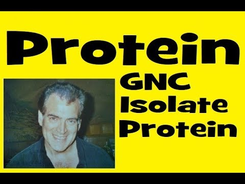 Checking Out GNC Isolate Protein