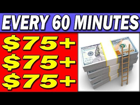 Earn $75.00 in JUST One HOUR Using Your PHONE! (Nothing Else!)