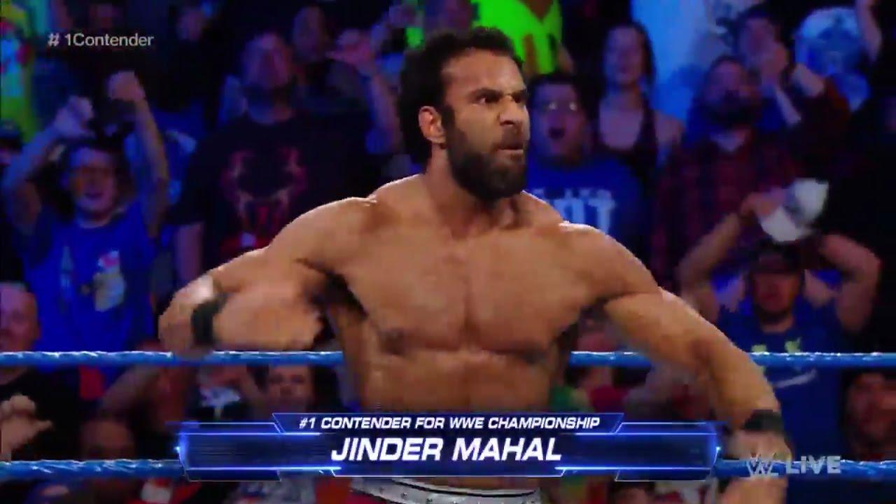 Image result for jinder mahal number one contender