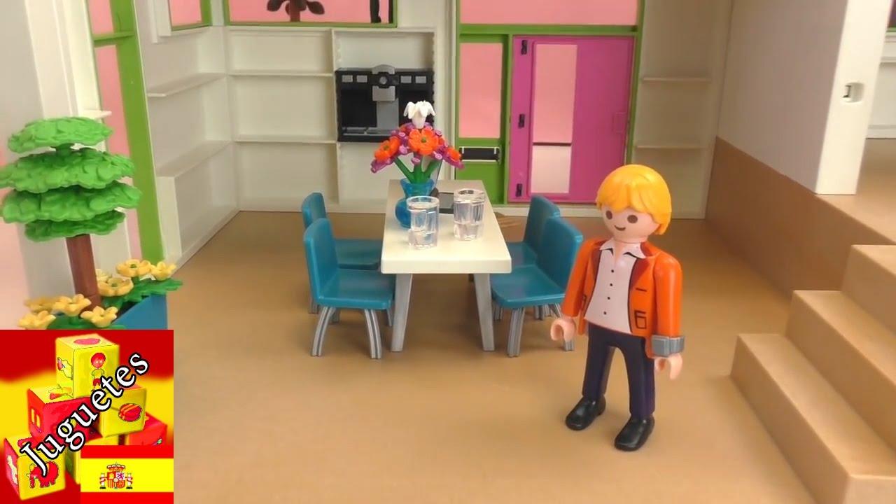 Demo de villa de lujo de playmobil playmobil 2015 city life villa youtube - Gran casa de munecas playmobil ...