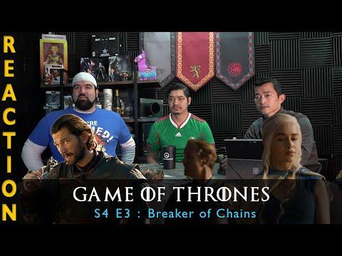 Game Of Thrones Season 4 Episode 3 Breaker Of Chains - Reaction