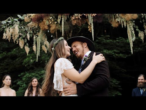 A Festival Wedding in the Woods – Noelle and Braden
