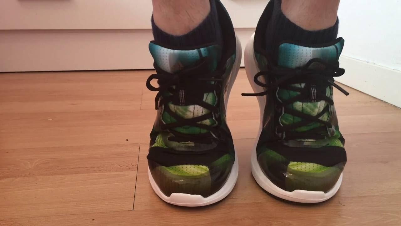 Adidas Duramo 7 sobre pies 2016 YouTube