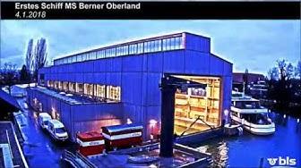 Neubau BLS-Werfthalle am Thunersee - Zeitraffer