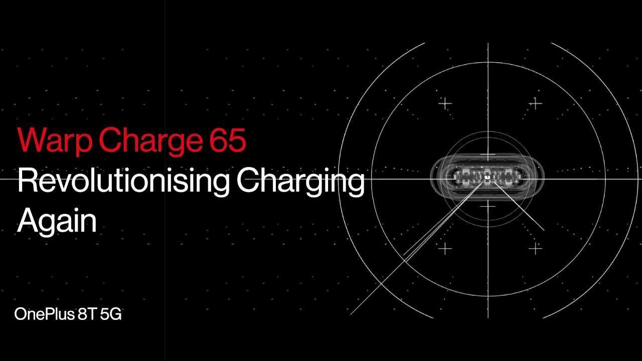 Warp Charge 65 - Revolutionising Charging. Again | Coming to the #OnePlus8T5G