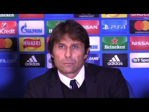 Chelsea 3-3 Roma - Antonio Conte Full Post Match Press Conference - Champions League