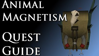 RSQuest: Animal Magnetism Quest Guide [Runescape RS3]