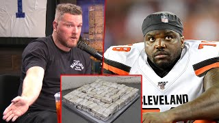Pat McAfee Reacts To NFL Players Caught With 157 lbs Of Weed