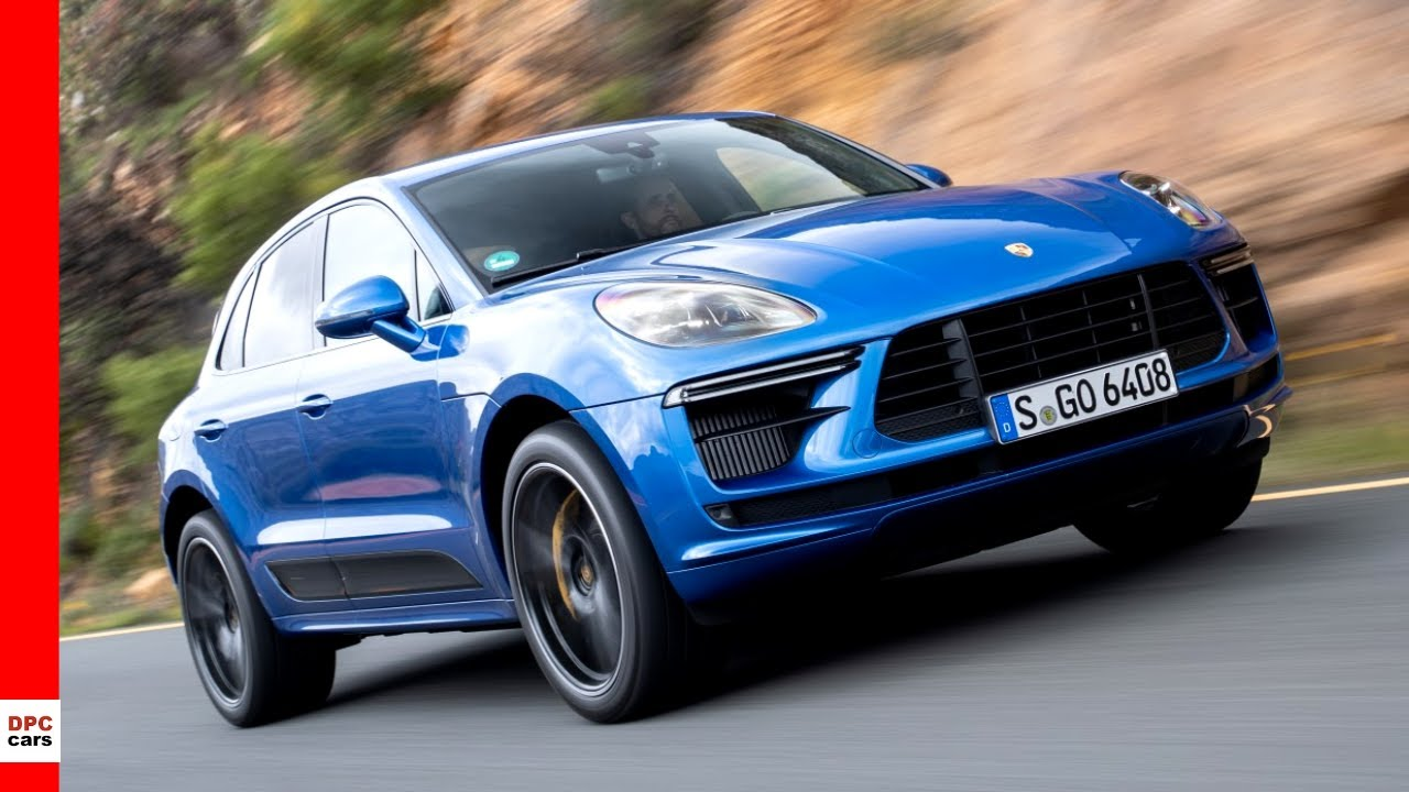 2020 Porsche Macan Turbo Sapphire Blue Metallic Youtube