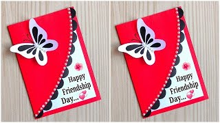 Friendship day card ideas / Friendship day card making very easy / How to make friendship day card