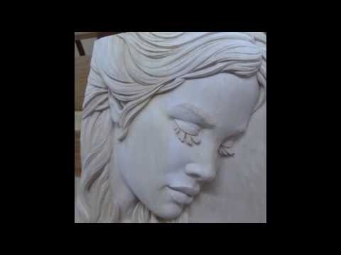 How to prepare basswood (linden wood) wood carving for staining or painting, Fred Zavadil