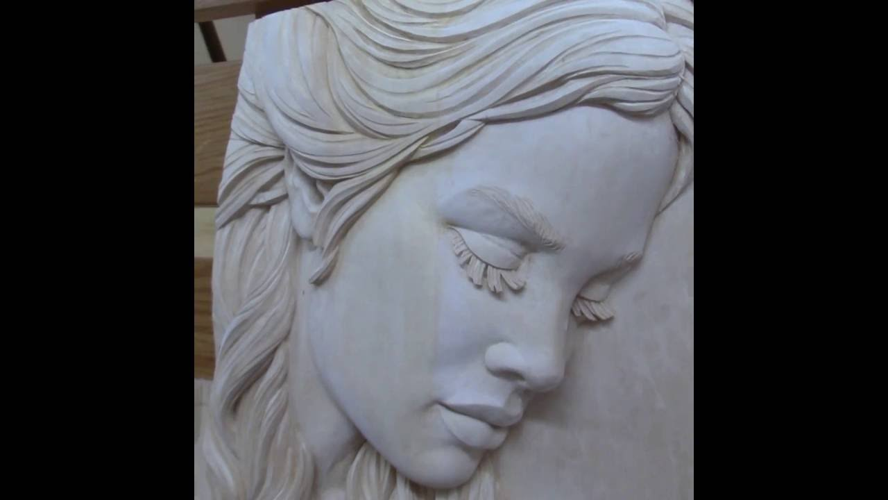 How to prepare basswood linden wood wood carving for staining or