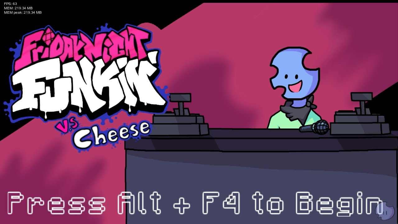 VS Cheese Full Week Friday Night Funkin Mod Showcase (HARD)