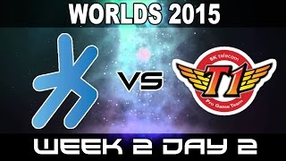 H2K vs SKT - 2015 World Championship Week 2 Day 2 - H2K Gaming vs SK Telecom
