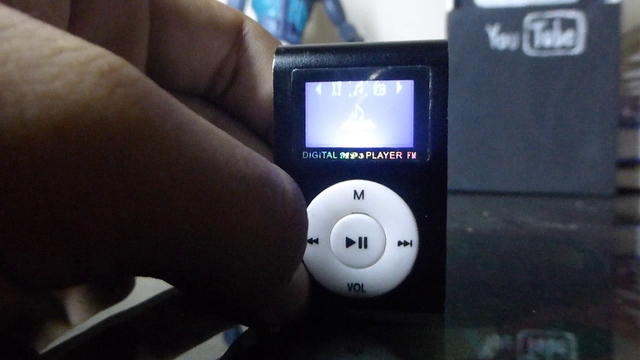 digital mini clip mp3 player instructions