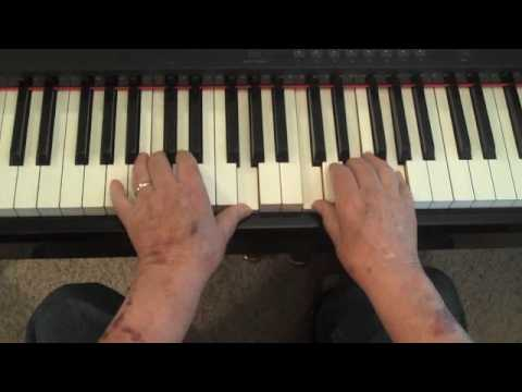 Piano chords - How to re-harmonize chords in songs