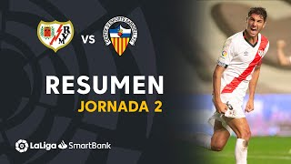 Resumen de Rayo Vallecano vs CE Sabadell (2-1)