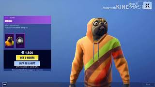NEW FORTNITE PUG SKIN!!!! (ITEM SHOP UPDATE)