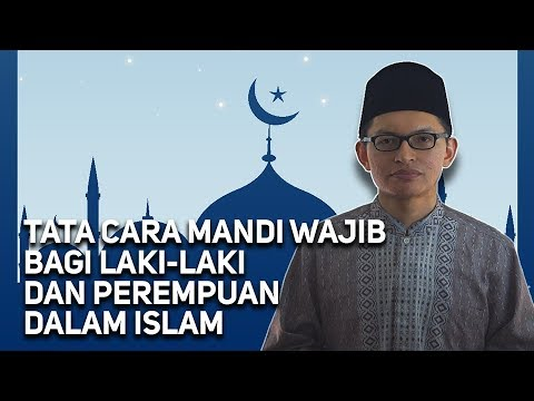 Tata Cara Mandi Wajib Wajib Ditonton Youtube