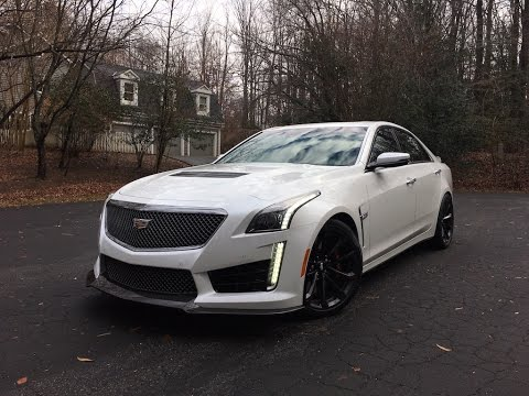 2017 Cadillac CTS-V – Redline: Review