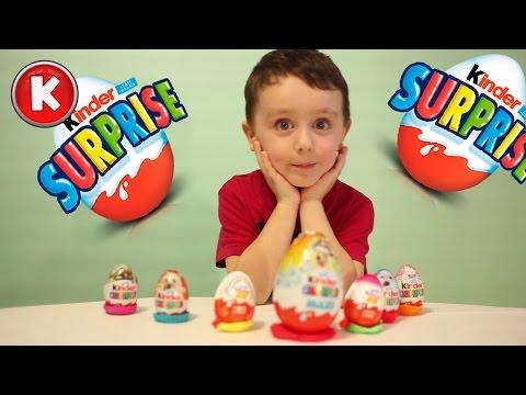 Киндеры Сюрприз Макси и несколько других из разных коллекций  - Kinder Surprise Maxi