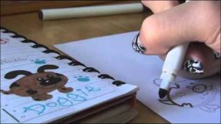 How to Draw: PUPPY DOG Doodle | DRAWING & DOODLES! by SoCraftastic