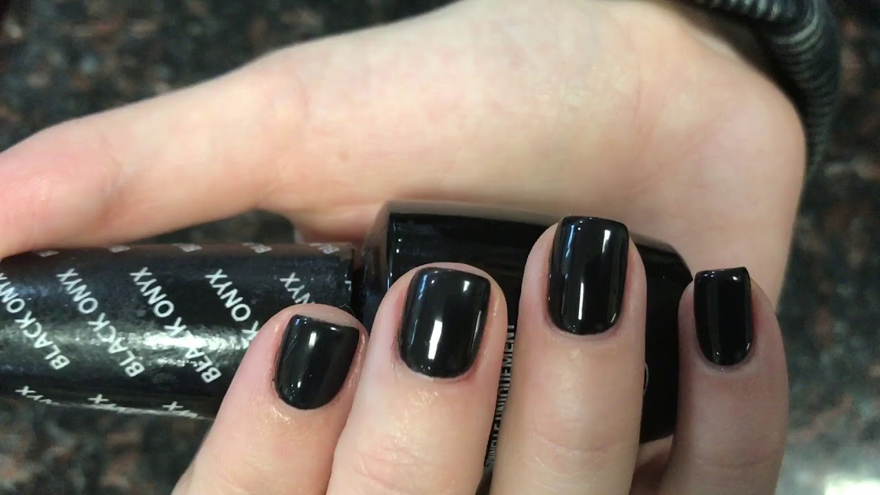 Black Opi gel color great for Halloween night - YouTube