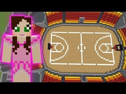 Minecraft: BASKETBALL GAME! - HEAD HUNTER THEME PARK [10]