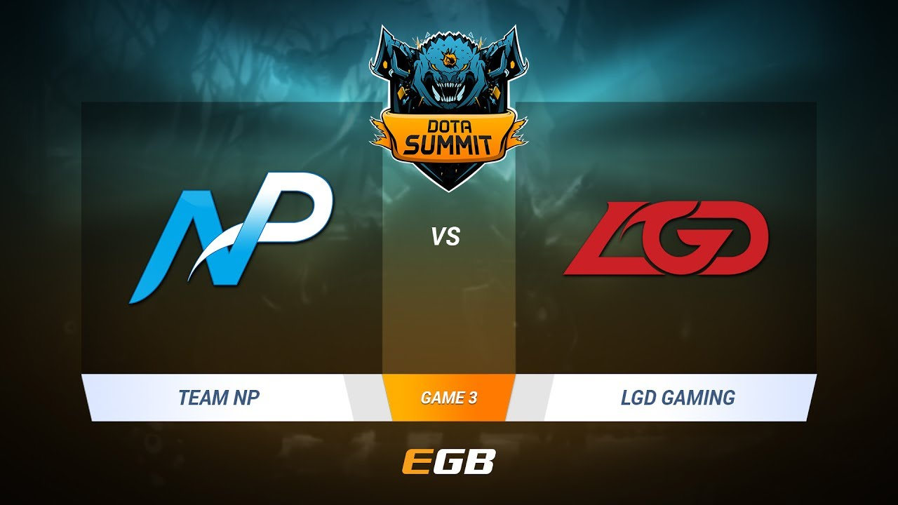 Team NP vs LGD Gaming, Game 3, DOTA Summit 7 LAN-Final, Day 1