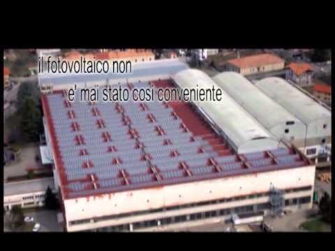 Spot promozionale sul fotovoltaico trasmesso su Rete Biella