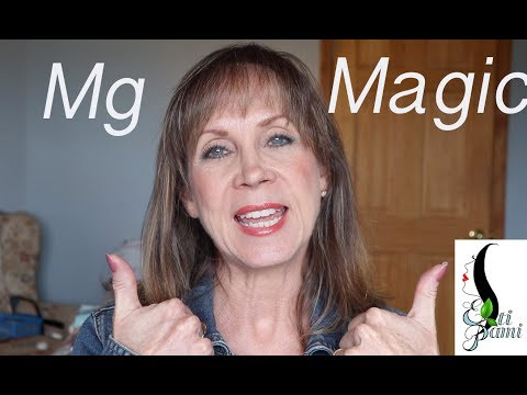 Magnesium Magic! Helps With Weight Loss, Anxiety, Headaches, And MORE!