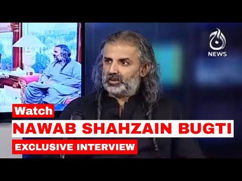 Shahzain Bugti Exclusive Interview   Spot Light with Munizae Jahangir   14th July 2021   Aaj News